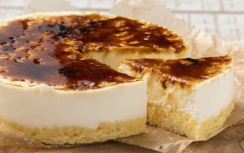 【九州お取り寄せ本舗】焦がしカラメル、濃厚クリーム、スポンジの組合わせが絶妙な『焦がしレアチーズケーキ』